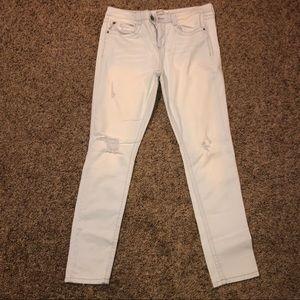Mudd Flex Stretch skinny Jeans light wash size13